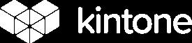 Kintone logo white, small