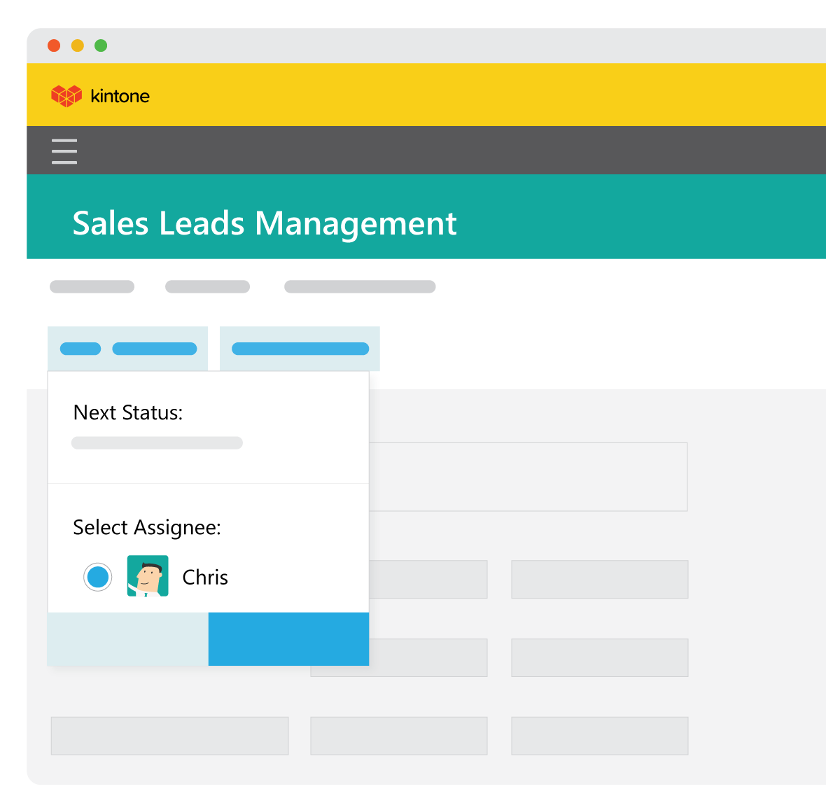 sales lead management workflow