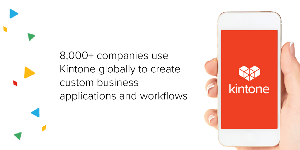 Kintone trusted by 8,000 companies